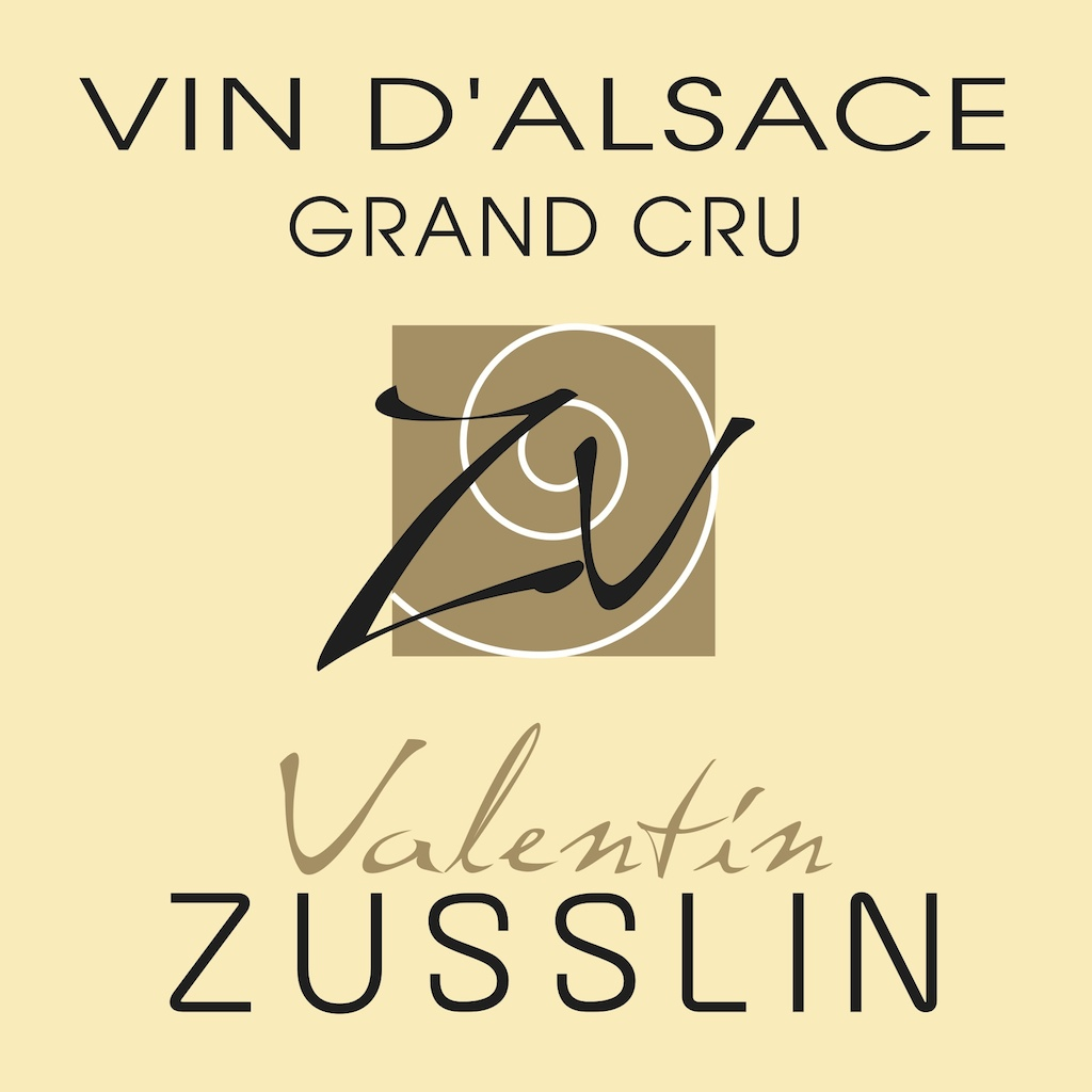 Logo Vins d'Alsace Valentin ZUSSLIN
